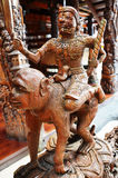 Estilo tailandés tradicional uno del zodiaco 12 Imagen de archivo libre de regalías