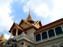 Estilo tailandês 02 da arquitetura fotos de stock