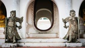 Estilo Tailandês-chinês de pedra imagem de stock royalty free