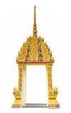 Estilo tailandês da arte do quadro de porta Foto de Stock