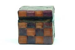 Estilo tailandês da caixa de madeira Fotografia de Stock Royalty Free