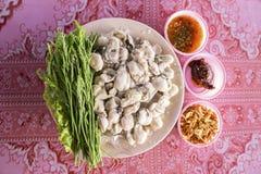 Estilo tailandês da culinária foto de stock royalty free