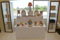 Estilo tailandês da decoração da mobília Fotos de Stock Royalty Free