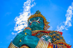Estilo tailandês da estátua gigante Fotos de Stock