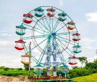 Estilo tailandês da roda de Ferris Fotografia de Stock Royalty Free