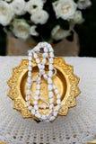 Estilo tailandês do casamento fotografia de stock royalty free