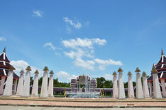 Estilo tailandês da construção clássica Imagem de Stock Royalty Free