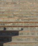 Estilo telhado do espanhol das escadas Foto de Stock