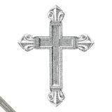 Estilo transversal do vintage do desenho da mão do símbolo Desenho da gravura da CTOC Fotografia de Stock