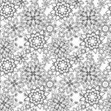 Estilo tribal dibujado mano de los garabatos florales del zentangle libre illustration