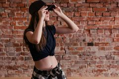 Estilo urbano Subcultivo adolescente moderno Fotografía de archivo libre de regalías