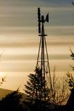Estilo velho do moinho de vento Imagens de Stock Royalty Free