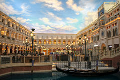 Estilo Venetian Foto de Stock Royalty Free