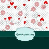 Estilo verde Imagen de archivo libre de regalías