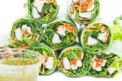 Estilo vietnamiano do alimento do close up fotografia de stock royalty free