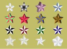 Estilos da mistura da estrela Fotografia de Stock Royalty Free