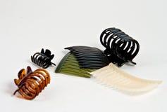 Estilos de Bret do cabelo Imagens de Stock Royalty Free