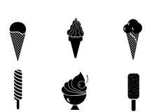 Estilos do gelado Fotografia de Stock
