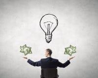 Estimate your money income Stock Photos