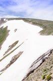 Estinzione del ghiacciaio Fotografia Stock