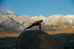 Estiramento da montanha Fotografia de Stock