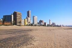 Estiramento da praia   Fotografia de Stock