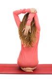Estiramento do ombro Imagens de Stock Royalty Free
