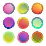 Estiramiento del sol de la oblicuidad del logotipo del icono de la acción stock de ilustración