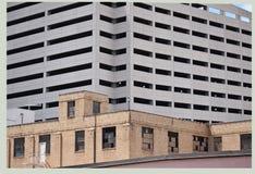 Estiramiento en Fort Worth, Tejas foto de archivo