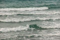 Estiramientos del mar y de la playa Imagen de archivo