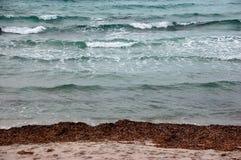 Estiramientos del mar y de la playa Foto de archivo libre de regalías
