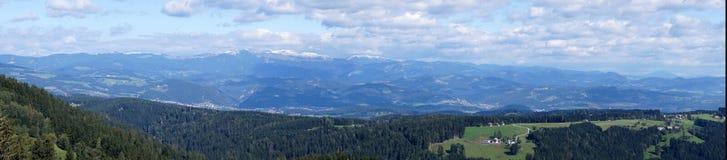 Estiria (Steiermark), Austria - tierra panorámica Imagenes de archivo