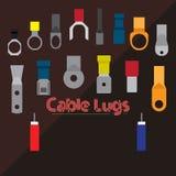Estirones del cable Imagen de archivo libre de regalías