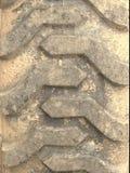 Estirones del neumático del tractor Imágenes de archivo libres de regalías