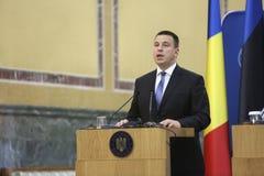 Estländsk premiärminister Juri Ratas Arkivbilder