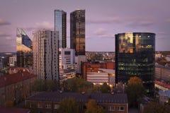 Estland: Modernes Stadtzentrum von Tallinn Stockbilder