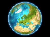 Estland op aarde Royalty-vrije Stock Afbeelding