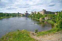 Estland - Rusland Royalty-vrije Stock Foto's