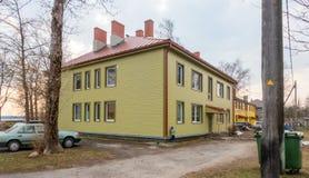 Estland Tallin stad distric Kopli royaltyfri fotografi
