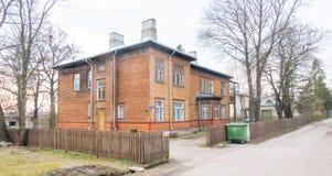 Estland Tallin stad distric Kopli arkivbilder