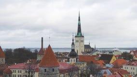 Estland Tallinn lager videofilmer