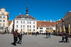 Estland. Tallinn stock foto's