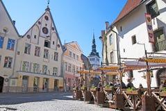 Estland. Tallinn stock afbeeldingen