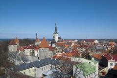 Estland. Tallinn royalty-vrije stock foto