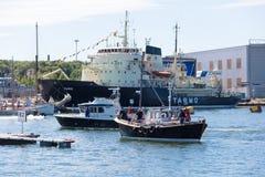 Estland tallinn 15.-18. Juli 2017: Tallinn-Seetage Lizenzfreie Stockbilder