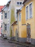 Estland, Tallinn, Oude stad Royalty-vrije Stock Fotografie