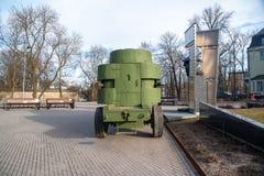 Estland Tallinn Toompea, erster Panzerkampfwagen lizenzfreie stockfotografie