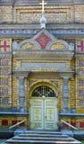Estlandse Apostolische Orthodoxe Parnu-Transformatie van Ons Lord Church royalty-vrije stock afbeeldingen