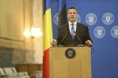 Estlandse Eerste minister Juri Ratas Stock Foto's
