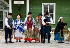 Estlandse mensen Royalty-vrije Stock Afbeelding